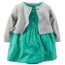 Vestido De Bebe Verde Carter
