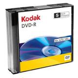 Dvd -r Kodak Con Caja Slim Case 16x 4.7gb 30 Piezas Full