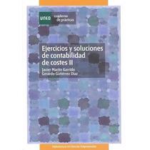 Libro: Ejercicios De Contabilidad De Costes Ii Pdf