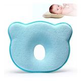 Almohada Para Bebé Recién Nacido Forma De Oso Suave Y Calida