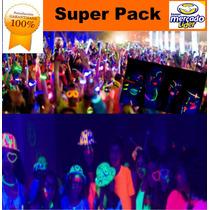 Paquete Fiesta Led Y Neon,eventos Boda Xv,antro,año Nuevo