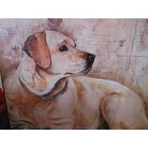 Placa Madera Perro Labrador Dog Frase By Josh Billings