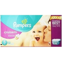 Pampers Cruisers Pañales Tamaño 5 Economía Paquete Plus