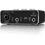 Behringer Um2 Interfaz De Audio 2x2 Usb 48v