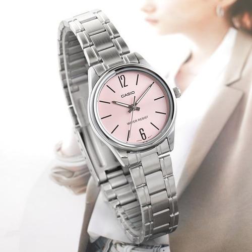 c785e2709ad2 Reloj Casio Quartz Ltpv005 Mujer Rosa  watchsalas  Full