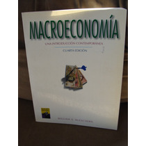 Libro Macroeconomia, Una Introduccion Contemporanea, William