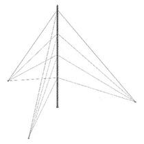 Kit De Torre Arriostrada De Piso De 21 M Altura Tz30