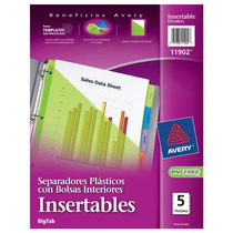 Separador De Plastico Traslucidoave-sep-11902 Upc: 07278211