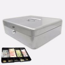 Caja De Acero Para Dinero Con 2 Llaves Para Casa O Negocio