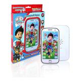 Celular Smartphone Juguete Paw Patrol Aprender Ingles Jugand