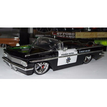 1:24 Chevrolet Impala 1959 Highway Patrol Jada Patrulla