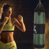 Vacío Entrenamiento Boxeo Gancho Patada Saco De Arena Lucha