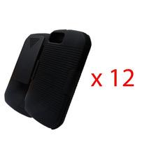 12 Clip Combo Nextel I940 Puregear Negro Original