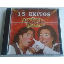 Lagrimita Y Costel 15 Exitos Cd Unica Ed Año 2010 Bvf