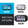 Consola Sony Ps Vita Slim Blanco Negro Azul Nuevo Msi