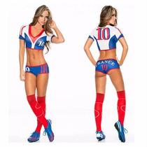 Disfraz Deportista Halloween Futbol Soccer Table Pole Dance
