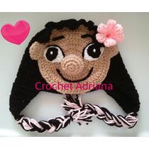 Gorro Tejido Lilo (película Lilo Stitch) Crochet Fn4