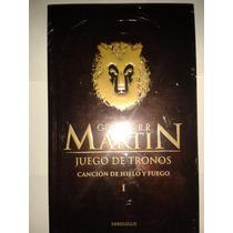 Juego De Tronos George R R Martin Canción Hielo Y Fuego 1