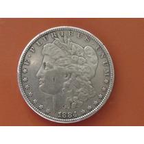 Moneda Antigua De Estados Unidos Morgan 1884
