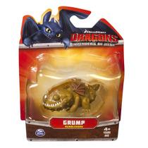 Dreamworks Dragons Los Defensores De Berk Grump Mini Dragone