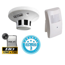Camara Oculta En Sensor Hdcvi 720p Alta Resolucion Cctv