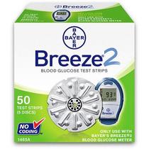 Bayer Breeze 2 Tiras De Prueba De Glucosa En Sangre 50 Recue
