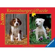 2 Rompecabezas De 1000 Piezas Perros Cachorros Fn4