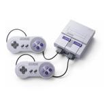 Nintendo Super Nes Classic Edition 512mb Gris Y Violeta