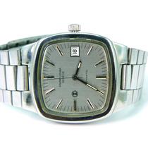 100% Y Original Reloj Favre Leuba Geneve Automático Daymatic