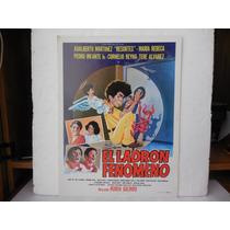 Resortes, El Ladron Fenomeno, Cartel De Cine