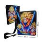 Dragon Ball Z Carpeta Con Correa Hombro Goku Sayayin Fases