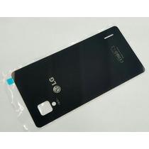 Tapa Trasera Lg Optimus G Mod: E975-e976 Color Negro