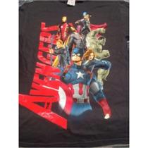 Playera Marvel Avengers Vengadores Nueva Talla Chica Origina