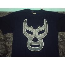 Playeras De Luchador Blue Demon Lucha Libre Mexicana Canek