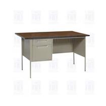 Escritorio Metalico Secretarial 120x60x75
