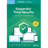 Antivirus Kaspersky Total Security 1pc Original Envio Gratis