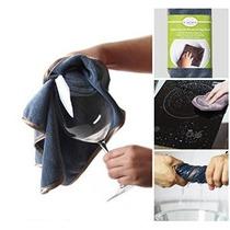 2-en-1 Mejor Limpiador De Micro Fibra O Una Toalla De Cocina