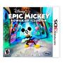 Vg - Epic Mickey 2 - El Poder De La Ilusion 3ds