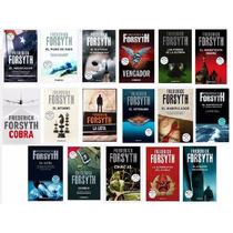 Colección Libros Frederick Forsyth Novelas De Espionaje