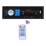 Reproductor De Mp3 Automático Con Bluetooth Auxiliar Inalámb