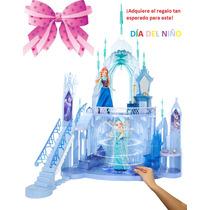 Gigante Castillo De Hielo Elsa Frozen/mattel Compralo A Msi