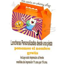 Cajitas Loncheras Para Dulces Personalizadas