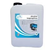 Alcohol Isopropílico 99.8% Puro 10 Litros Quimiklean