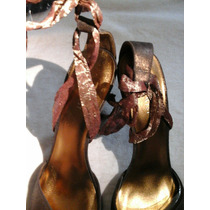 Nine West 27 Mex Color Bronce