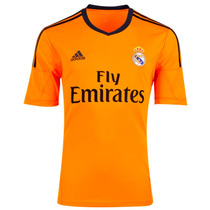 Jersey Real Madrid Tercer Uniforme Temporada 2013-14 Adidas