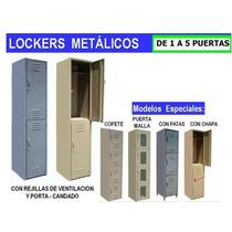 Lockers Metalicos Casilleros Gabinete Servicio Calidad Emj