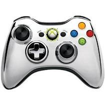 Mando Inalámbrico Xbox 360 - Cromo De Plata