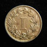 Moneda Un I Centavo 1883 Romano Porfirio Porfirianos Niquel