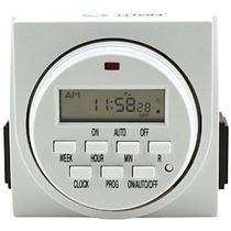 Titan Controls 734105 Apolo 9 2-outlet 24 Horas Temporizador