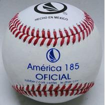 Pelota América 185t Docena 5oz Oficial Beisbol